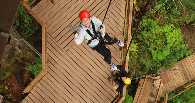 Rainforest Canopy and Zipline Adventure with Ketchikan Shore Tours